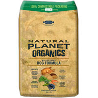 Natural Planets Organic dog food