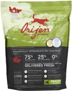 senior orijen dog food