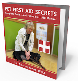 Pet First Aid Secrets - Complete Canine and Feline First Aid Manual written by a veterinarian
