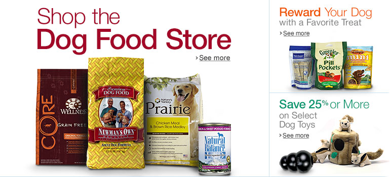 THE DOG FOOD STORE @ AMAZON HAS ALL THE PREMIUM BRANDS