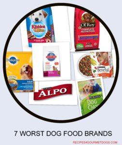 7 Worst Dog Food Brands
