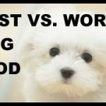 BEST VS WORST DOG FOOD