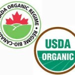 USDA organic , Canada Organic