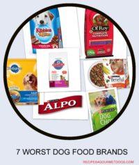 Top 7 Worst dog foods * 2021. Bad Dog Food Brands*
